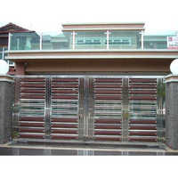 Stainless Steel Main Gate