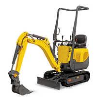 Mini excavator loader
