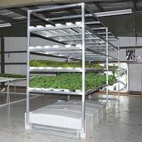 Hydroponic fodder machine
