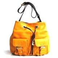 Designer leather bag