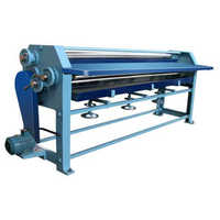 Corrugated sheet machine