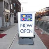 Outdoor signage advertisement