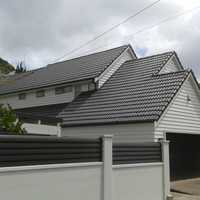 Concrete roofing solution