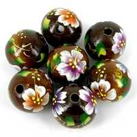 Painted bead
