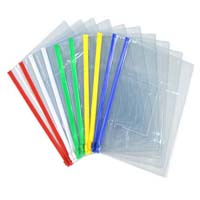 Plastic file cover