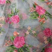 Printed Net Fabric