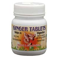 Ginger tablets