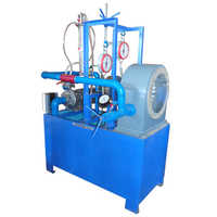 Pelton turbine test rig