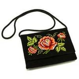 Hand embroidered purses