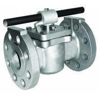 Industrial plug valve