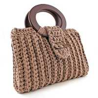 Crocheted handbags