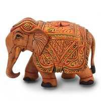 Hand carved elephant