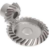 Spiral bevel gearbox