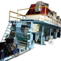 Silicone coating machine