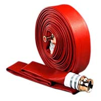 Non percolating fire hose