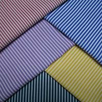 Polyester shirting fabric