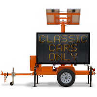Portable Message Sign