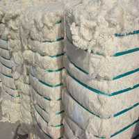 Waste cotton yarn