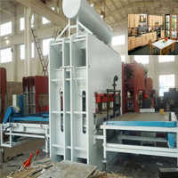Particle board machine