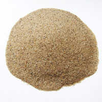 Washed silica sand