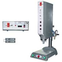 Rivet welding machine
