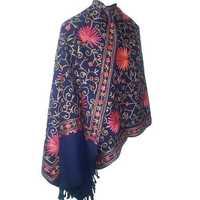 Aari work shawl