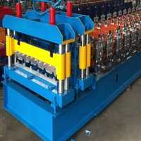 Roofing sheet machine