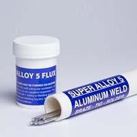 Aluminum brazing flux