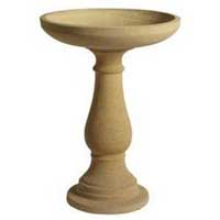 Sandstone bird bath