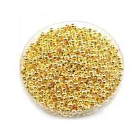Gold plated bead