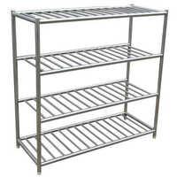 Steel pipe rack