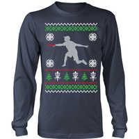 Printed sweater