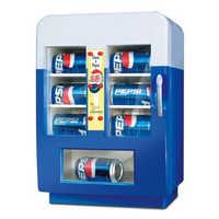 Soft drink vending machine