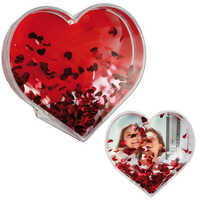 Heart shaped photo frames