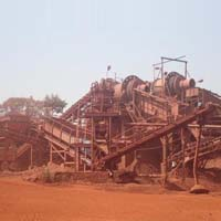 Iron ore beneficiation plant