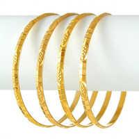 Sleek Design Gold Bangles