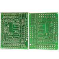 Double sided circuit boards