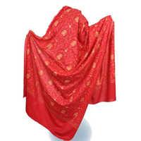 Satin shawls