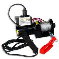Portable electric winch