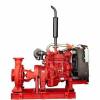 Kirloskar fire fighting pumps