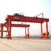 Rail mounted cranes