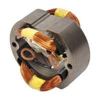Motor field coil