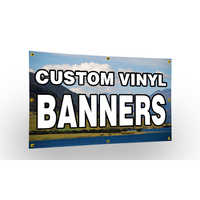 Digital vinyl banner