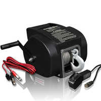 Portable power winches