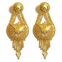 Womens gold earrings