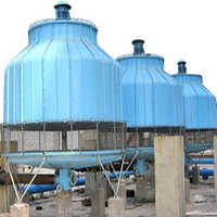 Industrial water cooling towers