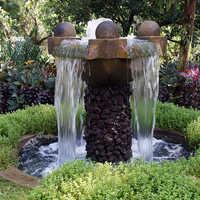 Outdoor Waterfalls