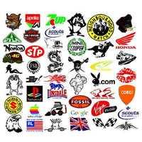 Pvc Plastic Stickers