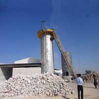 Vertical shaft kiln