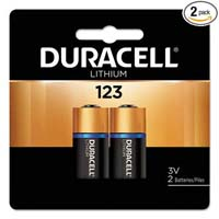 Duracell lithium battery